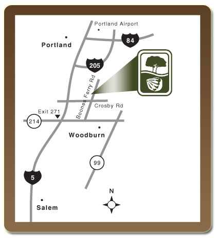 Map to Bountiful Farms